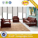 Китай высокое качество современных туристов кожаный диван для офиса (HX-S355)