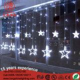 indicatori luminosi esterni raccordabili della stringa del ghiacciolo della stella di 200cm LED per natale