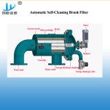 Filter van de Filter van de Borstel van het Roestvrij staal van de Rang van het voedsel de Automatische Zelfreinigende