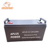 As baterias VRLA high-end 12V 120Ah com o recipiente de ABS