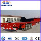 Dei 3 assi del contenitore di carico di trasporto del palo rimorchio del camion semi