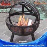 Adatto a tutti condice l'acciaio all'ingrosso del pozzo del fuoco della sfera del metallo