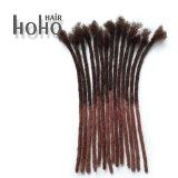 卸売12インチのアフリカのねじれたかぎ針編みのDreadlocksの人間の毛髪の拡張