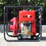 Bison (Chine) Bsdwp30I 3pouce Clinder Air-Cooled Strong Disel unique moteur Diesel Spécification de la pompe à eau