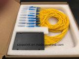 Sistemas coloreados telecomunicación del divisor del PLC de la fibra 1X32 de Gpon