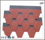Überzogenen Dach-Asphalt-Steinschindel färben