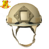 Capacete tático rápido de Wargame do CS de Airsoft Paintball da cor de Tan do núcleo de OPS