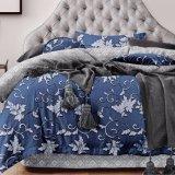 花枕カバーカバー王が付いている綿のシーツをかクイーンサイズは印刷した
