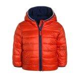 La couleur orange Fleece Duck Down Jacket pour les hommes Sports de plein air