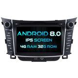 Hyundai I30 2012 4G ROM 1080P 접촉 스크린 32GB ROM IPS 스크린을%s Witson 8 코어 인조 인간 8.0 차 DVD