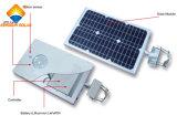 セリウムの証明の熱い販売18W太陽統合された街灯