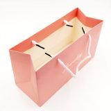 광택 있는 박판 쇼핑 종이 선물 핸드백 (J16-BG)