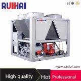 Refrigeratore raffreddato ad aria della vite con l'evaporatore dei Ti-Tubi di risparmio di temi dell'alta energia per il raffreddamento della caldaia di reazione chimica