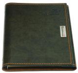 Выдвиженческое печатание тетради кожи тетради книга в твердой обложке высокого качества деталей