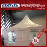 プリント材料PVC屈曲のテントのための上塗を施してある旗の防水シート