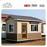 Casa prefabricada móvil del solo sitio de la pequeña de la cabina decoración prefabricada de Luxurury