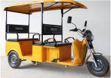 4つのシートが付いている熱い販売48V 1500Wの電気乗客の人力車