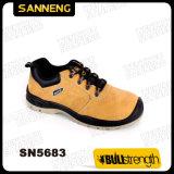 Nouvelle conception de chaussures de sécurité en cuir nubuck professionnel (SN5683)