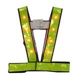 Nastro riflettente infiammante dell'alta maglia di visibilità dell'OEM del LED