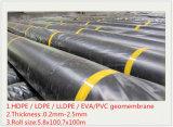 HDPE Geomembranes de 1.5m m para el trazador de líneas del terraplén