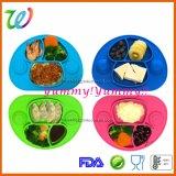 Mini plaque de Placemat d'aspiration de bébé de bébé d'enfant en bas âge de silicones de la meilleure qualité de Tableau dinant