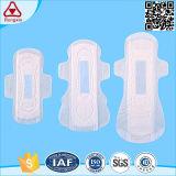 Serviettes hygiéniques matérielles d'utilisation de nuit de coton de marques en Chine