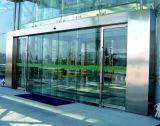 폴리 Frameless 유리제 자동적인 미닫이 문 시스템