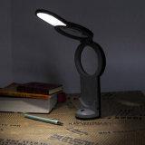2in1 LED Vergrößerungsglas Licht u. Booklight -- Faltbar (74-1F1701)