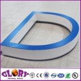 Lettre Frontlit LED de signalisation et de signer pour affichage extérieur en acrylique