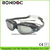 Qualité emballant des lunettes nageant des lunettes avec la fiche d'oreille (JS-7060)