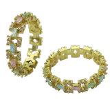 Juwelen van de Ring van Manier 925 van de fabriek de In het groot Zilveren Echte