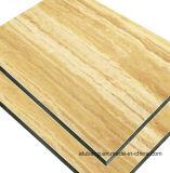 Panel Compuesto de Aluminio PVDF Material de construcción resistentes al fuego Panel Decoración