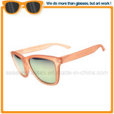Modische Frauen-Großhandelssonnenbrillen mit Luxuxspiegel-Objektiv