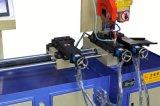 Труба вырезывания металла Yj-355CNC автоматическая голубая Servo подавая увидела машину
