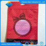 Kundenspezifisches Plastikaluminiumfolie-Mittel-mit Reißverschlussbeutel für Unterwäsche
