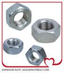 En acier inoxydable 304 316 d'écrous hexagonaux M12 DIN934