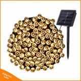 200 Outdoor LED lámparas solares LED luces de la cadena para la fiesta de Navidad vacaciones de Hada Jardín guirnaldas