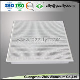12 Année d'expérience de l'aluminium panneau de plafond acoustique de la banque