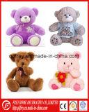 Мягкая игрушка подарка младенца плюшевого медвежонка для рождества