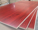 Chapa de madera MDF, chapa de madera MDF (teca, rojo, Okoume Oad, Bintangor, Álamos)