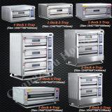 De enige Oven van de Pizza van het Baksel van het Brood van de Apparatuur van de Bakkerij van het Dek