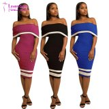 Ladies Sleeveless Dresses Women Sexy Clubwear (L27851)