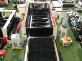 Laser-Ausschnitt-Maschine der Faser-1000W für landwirtschaftliche Geräten-Metalteile