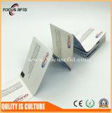 Il formato ed il marchio personalizzati hanno stampato la scheda di carta di RFID per il biglietto del passaggio del cancello