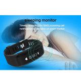 Armband in real time van de Monitor van het Tarief van het Hart de Waterdichte Slimme IP67