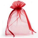 多くのカラー宝石類のパッキングドローストリングのオーガンザ袋に貯蔵しなさい