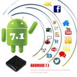 De promotie Dubbele Doos van TV van WiFi Androïde 7.1 4K Ott