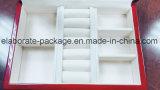 Handwerks-Spitzenglanz-Ende-hölzernes Geschenk/Schmucksache-Verpackungs-Kasten