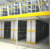 鋼鉄火格子のフロアーリングが付いている2つのレベルの中二階システム