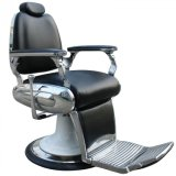 Chrom gestaltet Stuhl-stützenden Herrenfriseur-Stuhl mit Hochleistungsunterseite